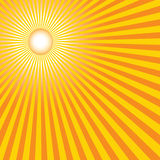Heiße Sommersonne Stockfotos