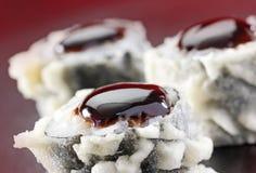 Heiße Sushi Philadelphias Uramaki Stockfotografie