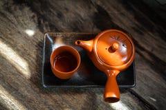 Heiße Teekanne Lizenzfreie Stockfotos