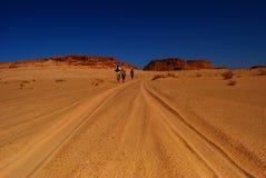 Heiße Wüste in Afrika Lizenzfreies Stockbild