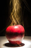 Heißer Apfel Stockfotos