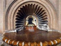 Heißer Brunnen Stockbild