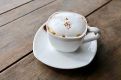 Heißer Cappuccino Lizenzfreies Stockfoto