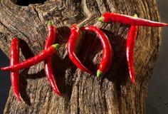 Heißer Chili Pepper Stockfotografie