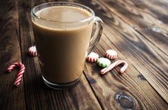 Heißer Feiertag der tadellosen Süßigkeit des Kakaos Stockfotografie