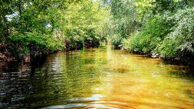 Heißer Fluss Stockbild