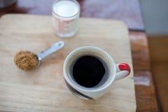 Heißer frischer Kaffee Stockfotos