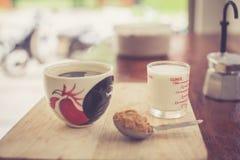 Heißer frischer Kaffee Stockbilder