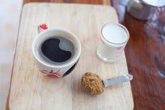 Heißer frischer Kaffee Lizenzfreie Stockfotografie