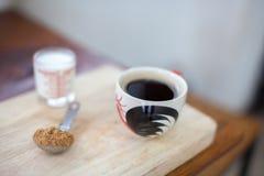 Heißer frischer Kaffee Lizenzfreie Stockbilder
