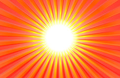 Heißer glänzender Sommer Sun Stockbilder