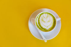 Heißer grüner Tee Lizenzfreie Stockfotografie