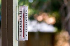 Heißer heißer Tag Stockbild