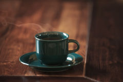 Heißer Kaffee Stockfotos