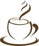 Heißer Kaffee Stockfotografie