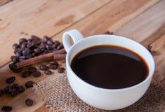Heißer Kaffee Lizenzfreies Stockbild