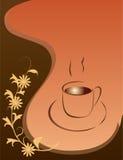 Heißer Kaffee für Ihren Liebling lizenzfreie abbildung
