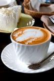 Heißer Kaffee Latte Stockfotos