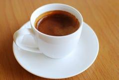 Heißer Kaffeeespresso Stockfotografie