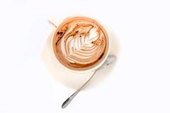 Heißer Kaffeemokka Lizenzfreies Stockbild
