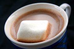 Heißer Kakao Stockfoto