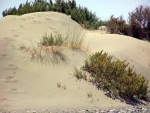 heißer Sand in Zypern Stockbild