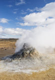 Heißer Schlamm vereinigt Island Skandinavien Europa Stockbild