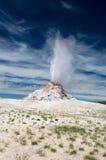 Heißer Spray vom weißen Hauben-Geysir Lizenzfreie Stockfotos