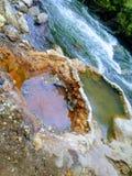 Heißer Töpfe Ogden-Fluss lizenzfreie stockfotos