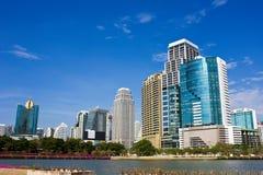 Heißer Tag am Sommer in der Bangkok-Stadt Lizenzfreies Stockbild