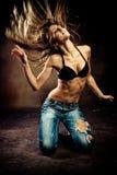 Heißer Tanz stockfotografie