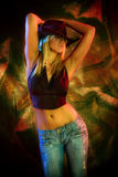 Heißer Tanz Lizenzfreie Stockfotos