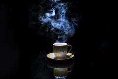 Heißer Tasse Kaffee Lizenzfreies Stockbild