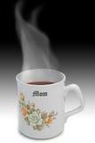 Heißer Tee für Mamma Stockbild