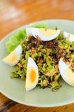 Heißer und würziger Salat der thailändischen Art lizenzfreies stockbild