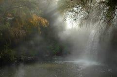 Heißer Wasserfall Lizenzfreie Stockfotos