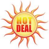 Heißes Abkommen stock abbildung
