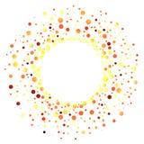 Heißes Ball-Feuer Ring Frame Lizenzfreies Stockbild