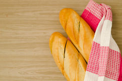 Heißes Brot Stockfoto