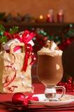 Heißes Chcolate Getränk stockfotos