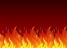 Heißes Feuer Stockbild