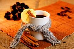 Heißes Getränk für krankes Stockfoto