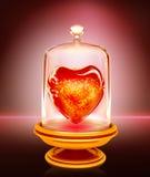 Heißes Herz Lizenzfreies Stockfoto