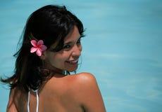 Heißes lateinisches weibliches Baumuster Lizenzfreies Stockfoto