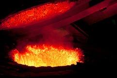 Heißes Metall 2 stockfoto