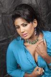 Heißes Modell des schönen Srilankan Lizenzfreies Stockfoto