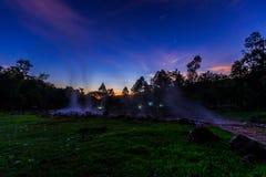 Heißes Quellenwasser Lizenzfreies Stockfoto