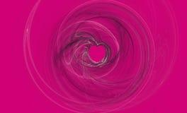 Heißes Rosa-Liebe Stockfoto