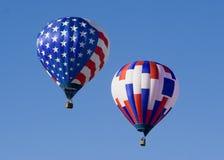Heißluft-Ballon 0707 Lizenzfreie Stockbilder