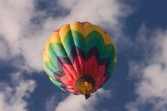 Heißluft-Ballon lizenzfreie stockfotos